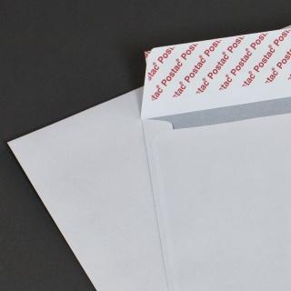 Белый офсет, 100 гр/м2, Прямой клапан, Лента, Повышенной плотности серия Postac