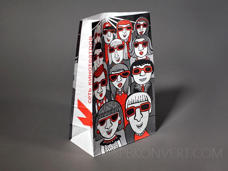 Производство пакетов из крафт бумаги