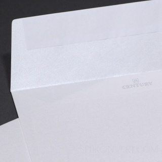 Sirio Pearl Ice White бумага с перламутровым эффектом белый металлик 125 гр., Лента.