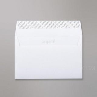 , 120 гр/м2, Прямой клапан, Лента, Клапан по короткой стороне, Подарочные Ярко-белая бумага Conqueror Contour Brilliant White 120 гр. (UK)