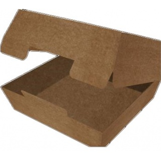 Контейнеры изготовлены из плотного картона. Подходят для разогрева продуктов в микроволновых печах.