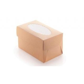 Возможна сборка как белой, так и крафт стороной наружу. Возможно нанесение печати.