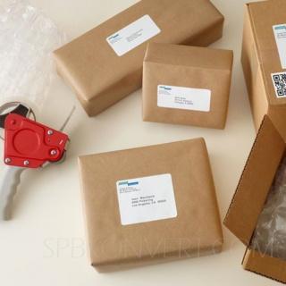 8 наклеек на листе А4. В упаковке 100 листов A4. Multilabel (Испания)