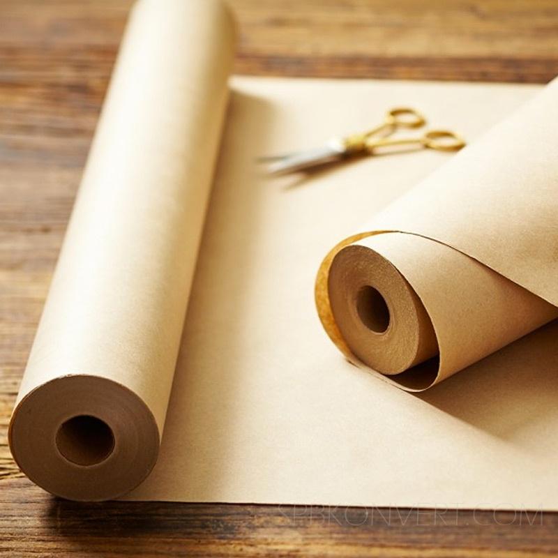 Два рулона оберточных бумаг
