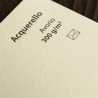 ACQUERELLO AVORIO SRA3 300 г/кв.м дизайнерский картон в листах 32*45 см