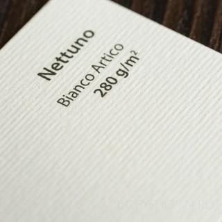 NETTUNO BIANCO ARTICO SRA3 280 г/кв.м дизайнерский картон в листах 32*45 см