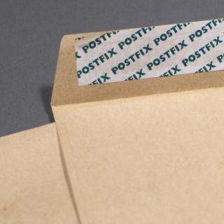 Коричневый крафт, 90 гр/м2, Прямой клапан, Лента, серия Postfix