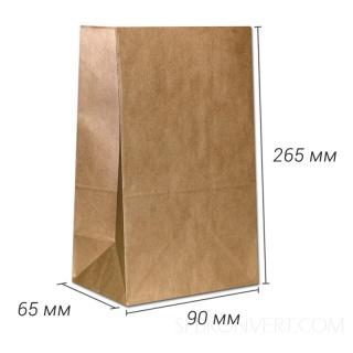 Фасовочный с прямоугольным дном, для 1 кг.