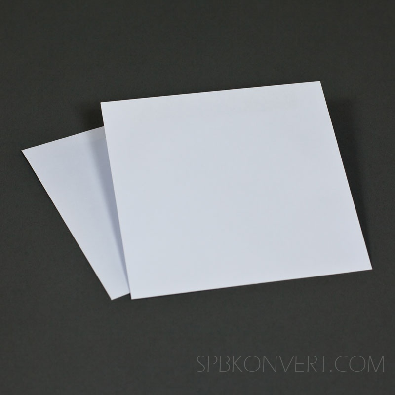 Квадратный конверт 150х150 мм для открыток 62