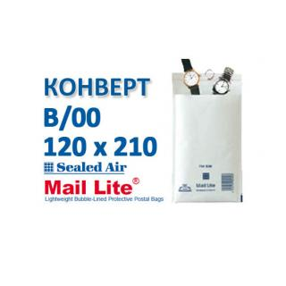 B/00, внутренний размер 120x210.