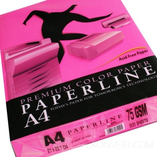 Paperline 350 Cyber HP Red