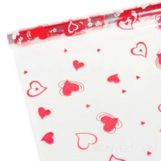 Прозрачная упаковка для цветов и подарков оптом.