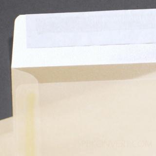 Прозрачный перламутровый, клапан по короткой стороне, пр-во Германия