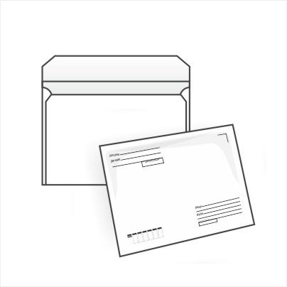 466Прямоугольный конверт из а4