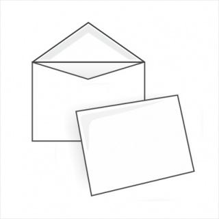Белый офсет, 80 гр/м2, Треугольный клапан, Декстрин,